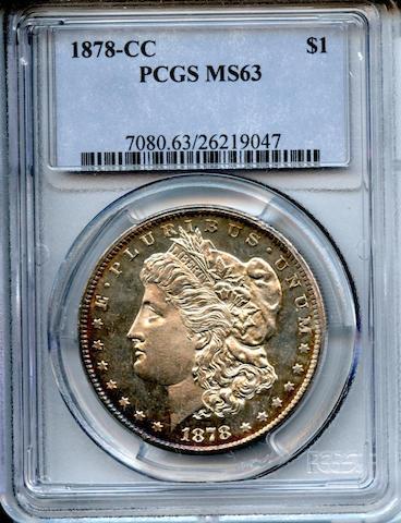 1878-CC $1 MS63 PCGS