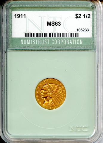 1911 $2.5 MS63 Numistrust