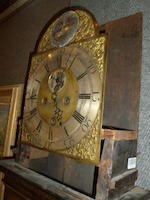 A George II later japanned tall case clock<BR /> Thomas Spencer of Dysert <BR /> mid 18th century