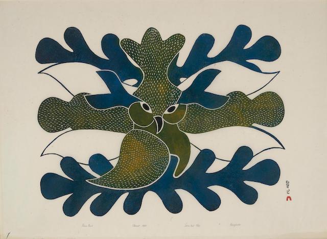 A Kenojuak Ashevak print