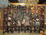A fine Chinese twelve panel coromandel screen 18th century