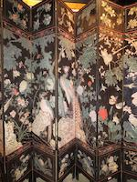 A fine Chinese twelve panel coromandel screen<BR />18th century