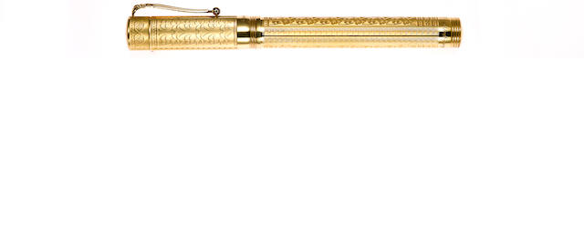MONTEGRAPPA: Lancaster 18K Gold Limited Edition Fountain Pen