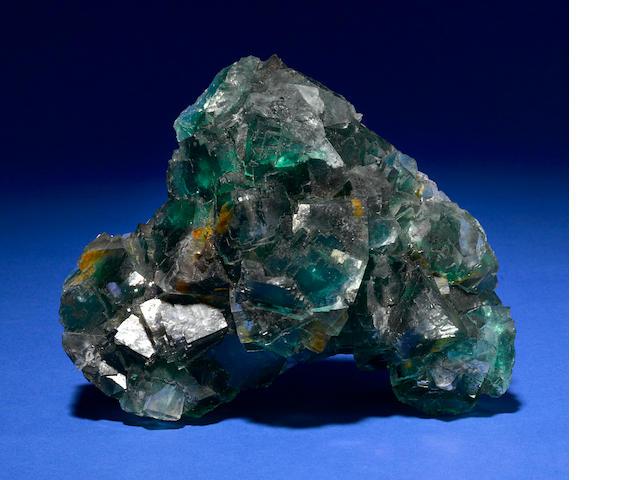 Fine Green Fluorite Cluster