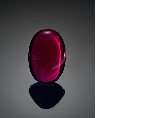 Rhodolite Garnet Cabochon