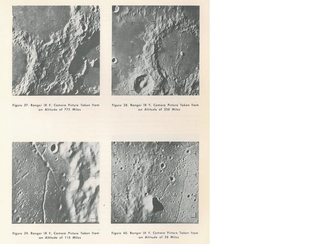 RANGER. Collection of approximately 60 volumes, documents, or dossiers related to Ranger missions, many being rare internally-circulated items from JPL or contractors, including: