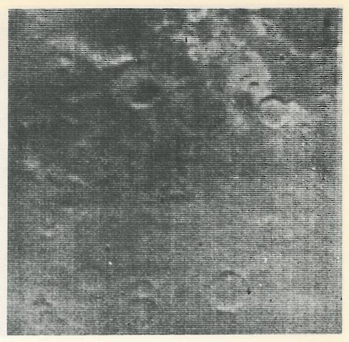 MARINER IV. 22 views of Mars, being every image captured by Mariner IV, July 14, 1965,