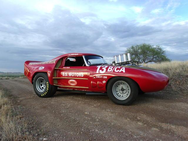 "1963 MGB ""Megalomania"" Gasser Roadster"