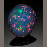 Black Crystal Opal