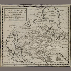 MOLL, HERMAN. 1654?-1732. The Compleat Geographer: or, the Chorography and Topography of all the Known Parts of the Earth. London: Awnsham and John Churchill, and Timothy Childe, 1709..