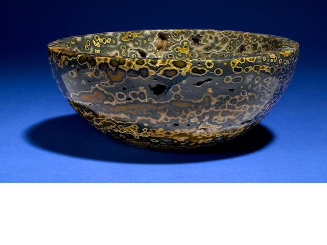 Orbicular Jasper Bowl