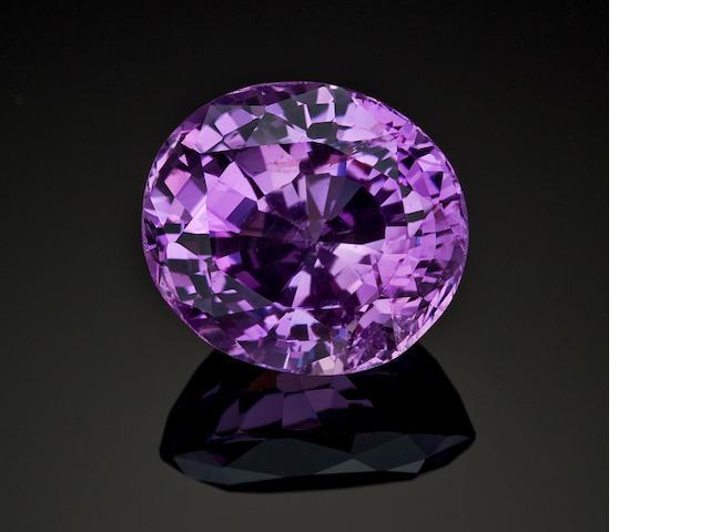 Purple-Pink Sapphire, 28.98 cts.