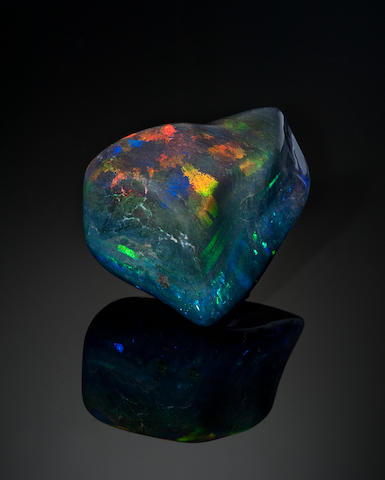 Black Opal Matrix, 3786 cts.