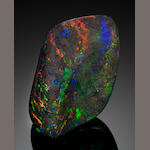 Black Opal Matrix, 443.5 cts.