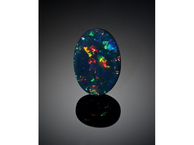Black Prince Opal. 60.46 cts.