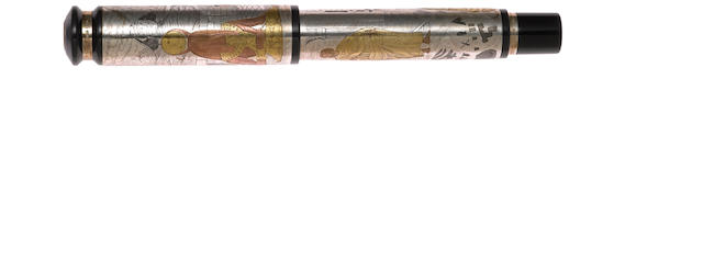 MONTEGRAPPA: Sophia Sterling Silver Limited Edition Rollerball