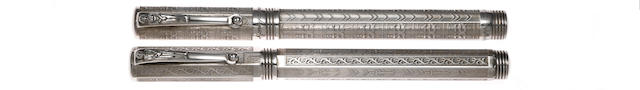 MONTEGRAPPA: Romeo and Juliet Limited Edition Fountain Pens