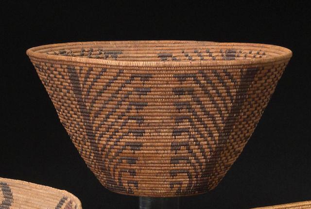 A Patwin/Maidu basket