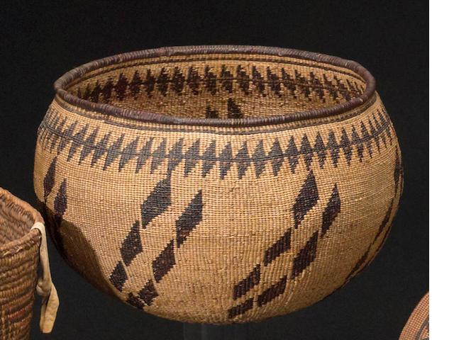 An Achumawi basket