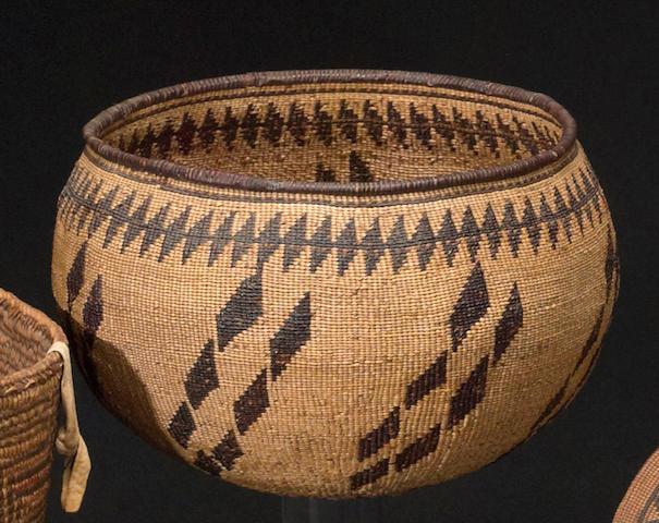 An Achumawi basket
