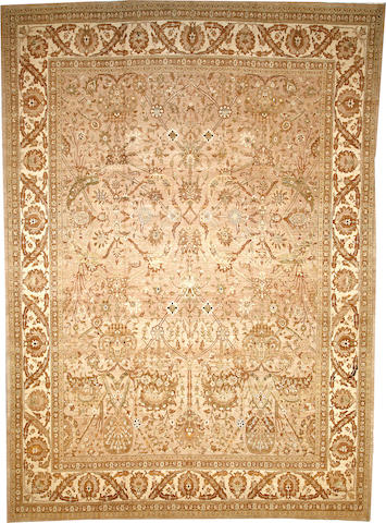 A Tabriz carpet Northwest Persia size approximately 11ft. 3in. x 15ft. 10in.