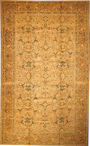 A Tabriz carpet Northwest Persia size approximately 11ft. 2in. x 18ft. 4in.