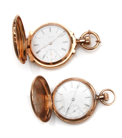 An Agassiz 18 karat gold case gentleman's pocketwatch