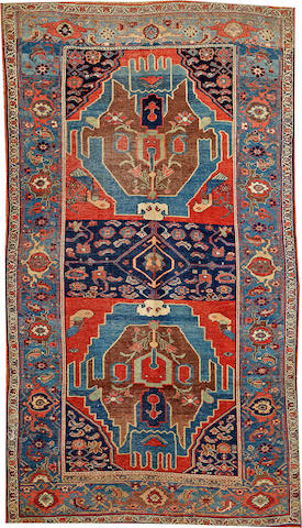 A Bidjar rug  Northwest Persia size approximately 4ft. 6in. x 8ft.