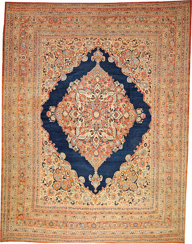 A Hadji Jalili Tabriz carpet Northwest Persia size approximately 11ft. x 14ft. 6in.