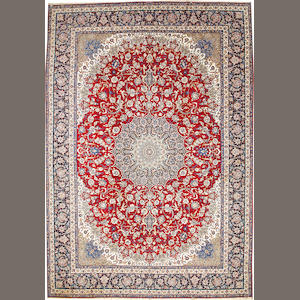 An Isphahan carpet  South Central Persia size approximately 12ft. 7in. x 17ft. 6in.