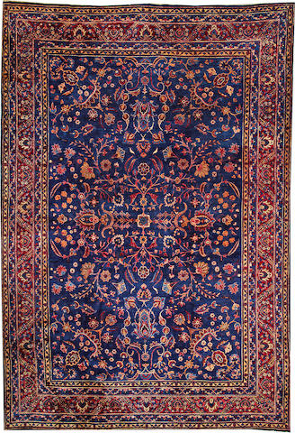 A Kerman carpet  South Central Persia size approximately 9ft. 10in. x 14ft. 5in.