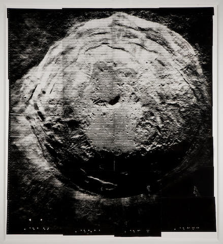 LUNAR ORBITER V. Oversize view of the crater Aristarchus, August 18, 1967,