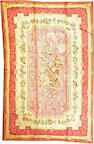 An French Savonnerie carpet  France size approximately 6ft. 8in. x 10ft. 3in.
