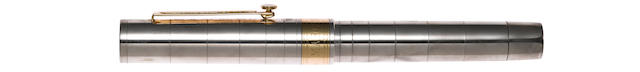 OMAS: Guglilemo Marconi Silver Limited Edition 2800 Fountain Pen