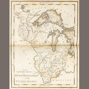 CAREY, MATHEW. 1760-1839. Carey's American Pocket Atlas ... with a Brief Description of Each State and Territory. Philadelphia: Mathew Carey, 1814..