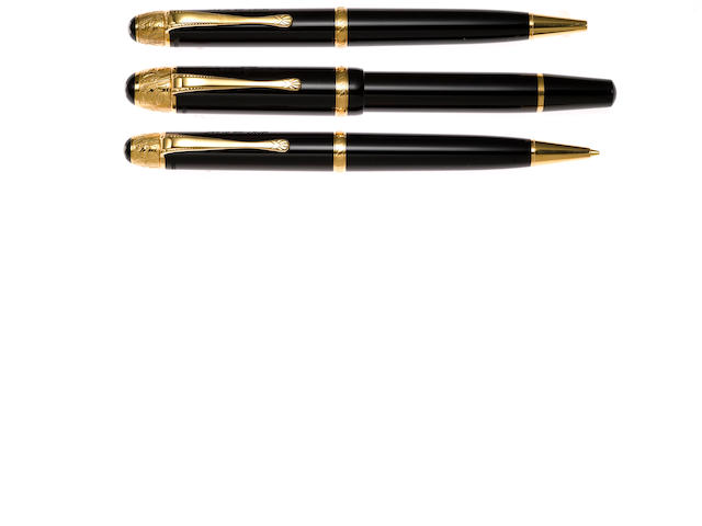MONTBLANC: Voltaire Limited Edition Writers Series 3-Piece Set