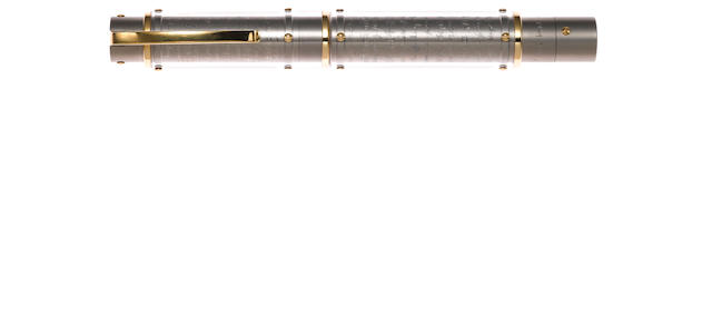 OMAS: Harmonia Mundi Titanium Limited Edition 950 Fountain Pen