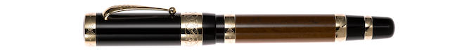 MONTBLANC: François I Patron of Art Series Limited Edition 4810 Fountain Pen