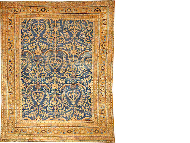 A Khorasan carpet  Northeast Persia size approximately 9ft. 2in. x 11ft. 7in.