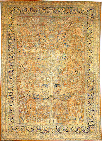 A Khorasan carpet  Northeast Persia size approximately 8ft. 6in. x 12ft. 1in.