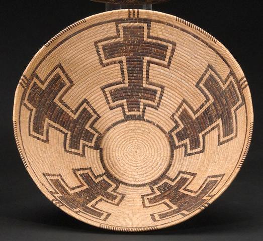 A Panamint basket