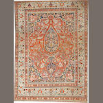 A Doroksh carpet  Northeast Persia size approximately 9ft. 8in. x 13ft. 4in.