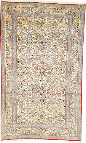 A Nain rug  Central Persia size approximately 5ft. x 8ft. 3in.