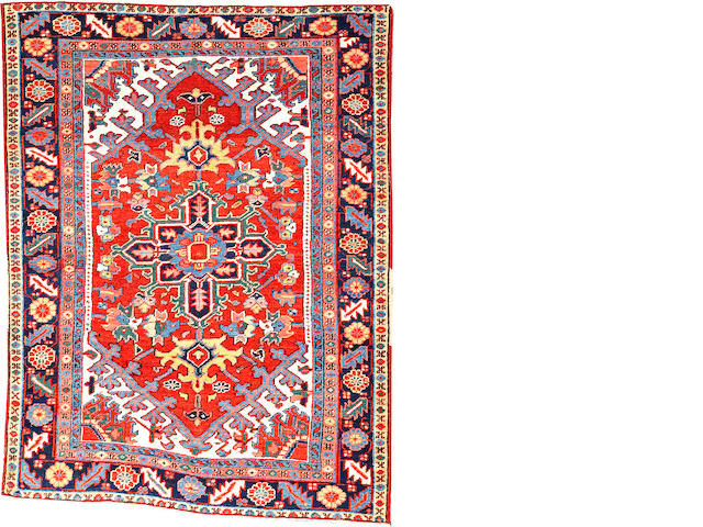A Serapi rug  Northwest Persia size approximately 4ft. 4in. x 5ft. 9in.