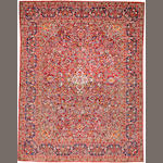 A Kashan carpet  Central Persia size approximately 8ft. 7in. x 11ft. 3in.