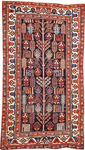 A Bakhtiari rug  Southwest Persia size approximately 5ft. 3in. x 9ft. 3in.