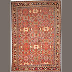 A Mahal carpet  Central Persia size approximately 10ft. 4in. x 15ft. 3in.