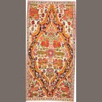 A Bakhtiari rug  Southwest Persia size approximately 3ft. 5in. x 7ft.