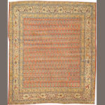 A Tabriz rug  Northwest Persia size approximately 4ft. 3in. x 5ft.