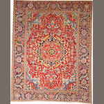 A Heriz carpet  size approximately 9ft. 3in. x 11ft. 9in.